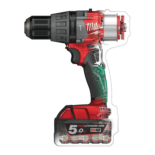 Milwaukee M18 FPD - 12