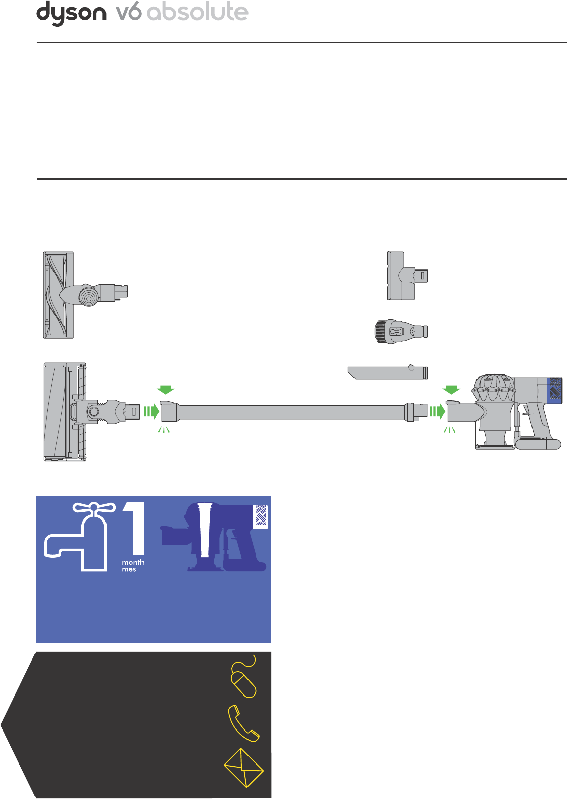Dyson v6 absolute инструкция во miles dyson