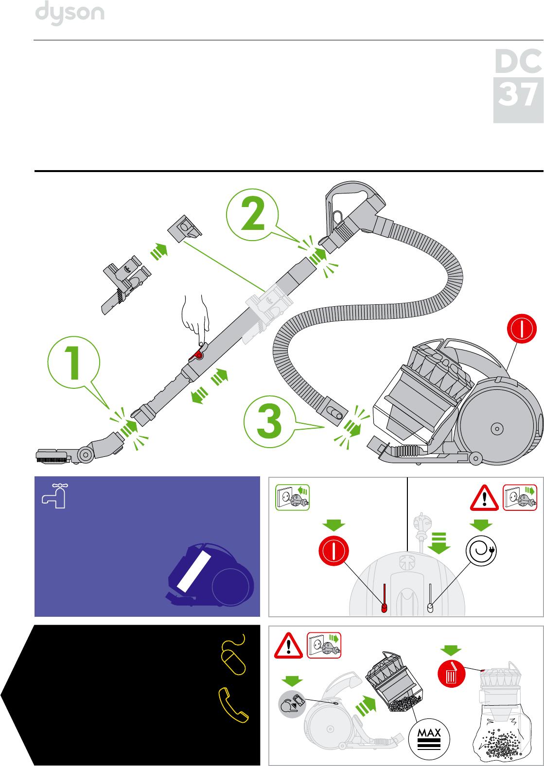 пылесос инструкция dyson