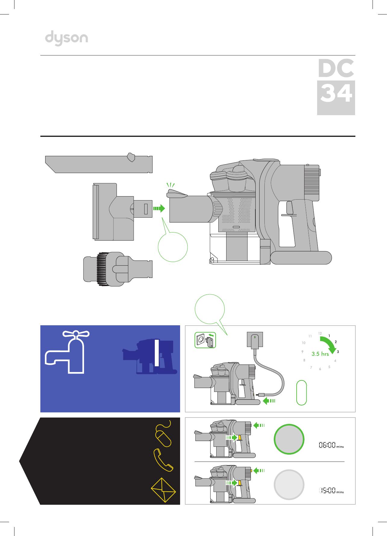 Инструкция по эксплуатации пылесоса дайсон dc62 фен дайсон ютуб