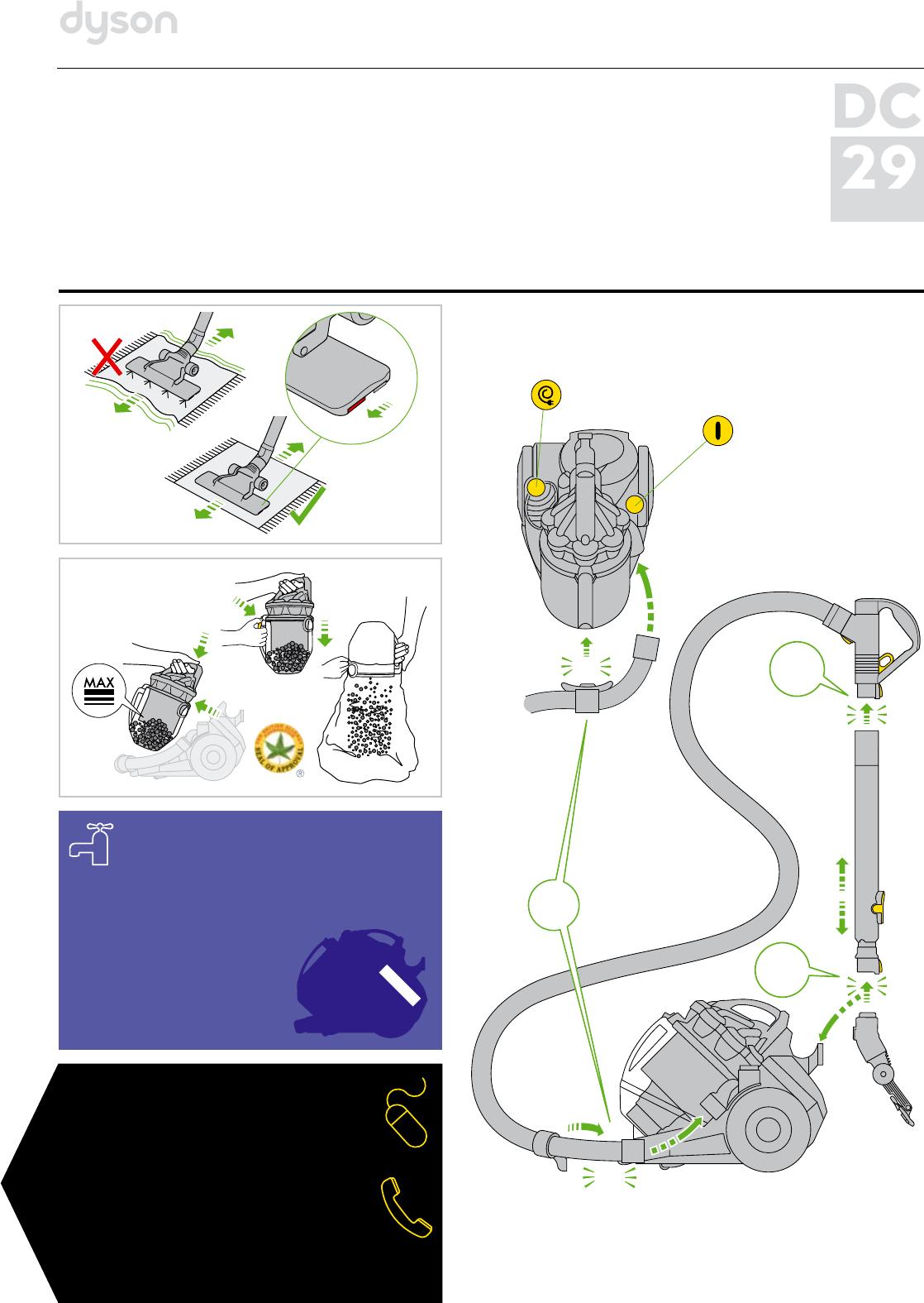 инструкция к dyson dc29