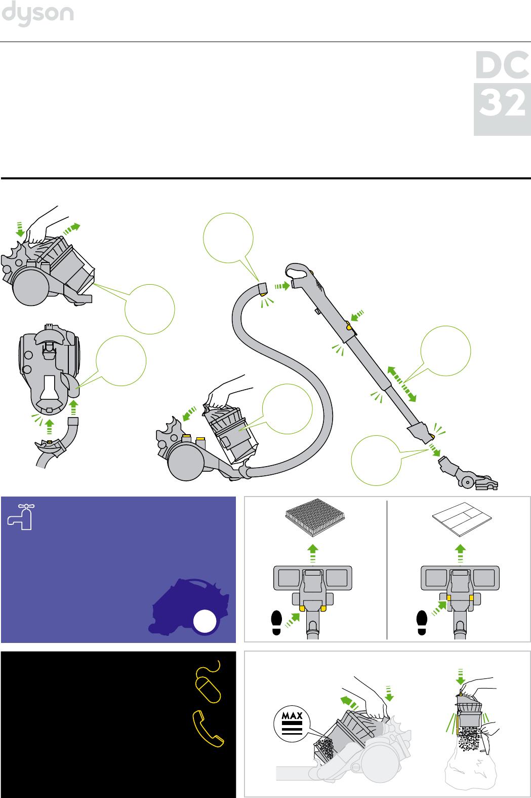 Инструкция к dyson dc29 как почистить циклон пылесоса дайсон